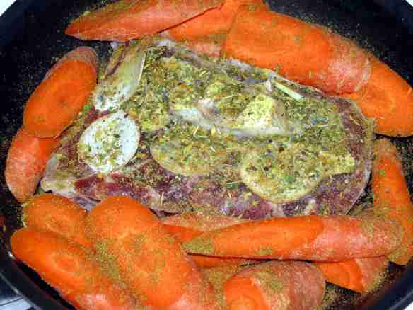 AfterWorkoutSteakAndCuminCarrots-PreCooked