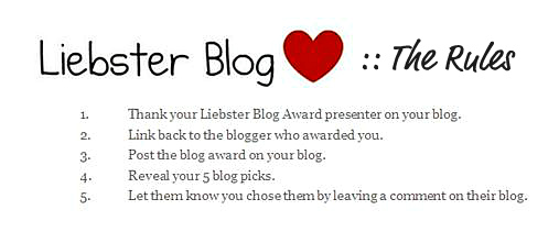 Liebster Award The Rules - 5